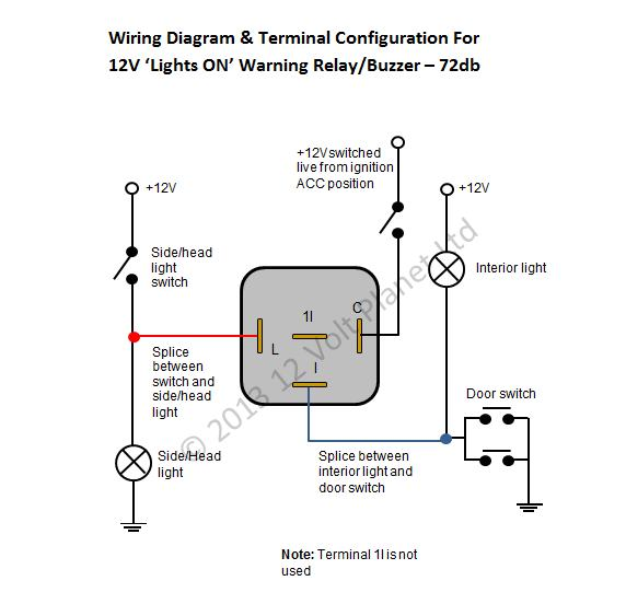 20 Fresh Headlight Warning Buzzer Wiring Diagram